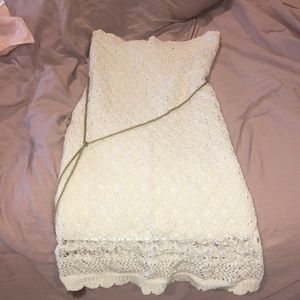 Forever 21 knitted dress with rope belt!